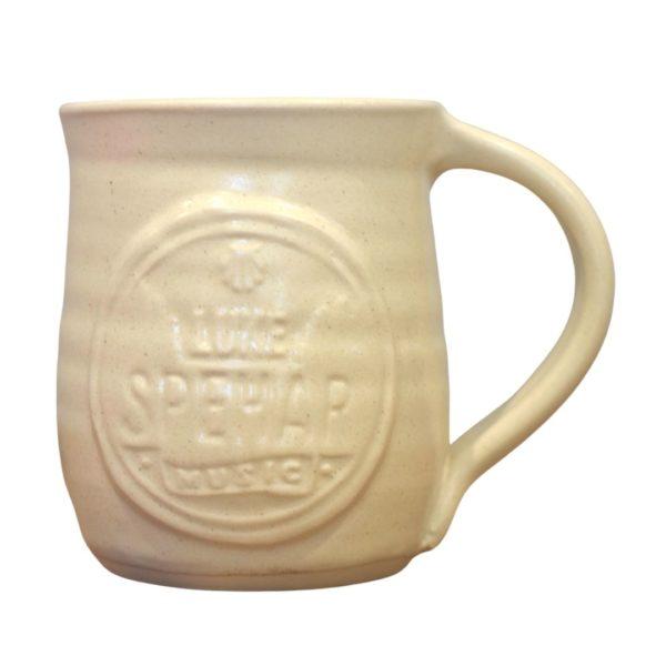 Cream Luke Spehar Handmade Mug